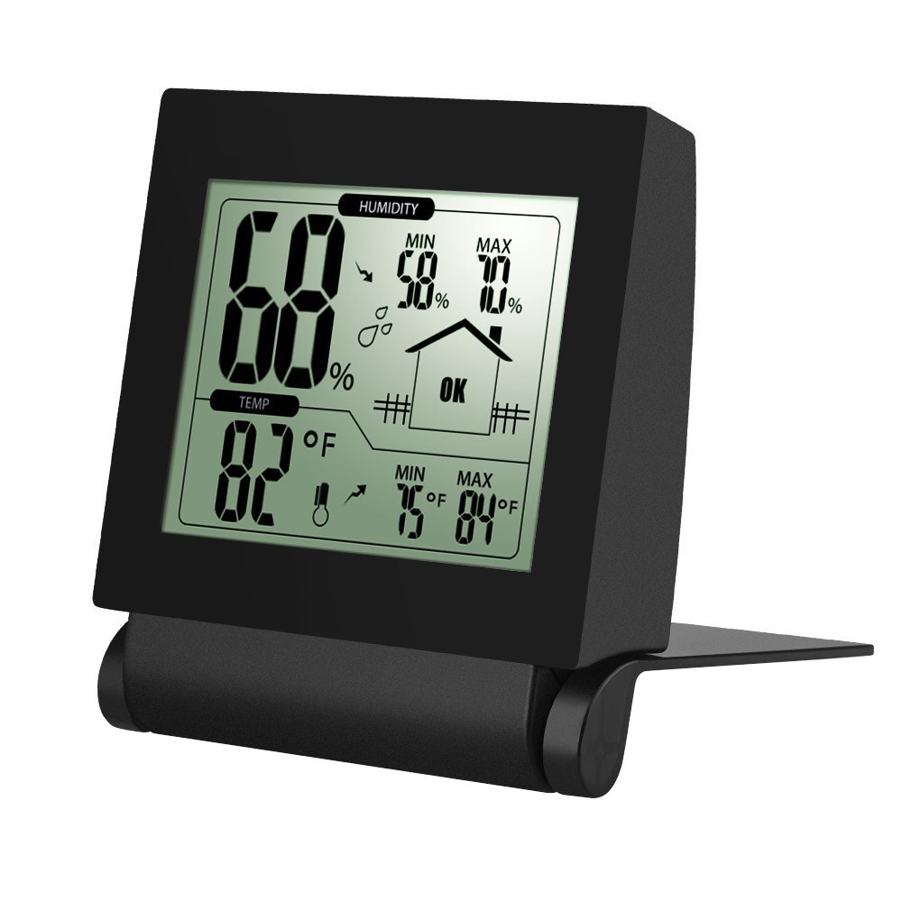 Digital Humidity Sensor Wiring Diagrams Diagram Amazon Com Habor Wireless Hygrometer Thermometer Monitor Rh