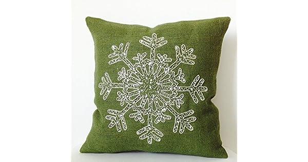 Amazon.com: Amore Beaute Snow Flake hecho a mano fundas de ...