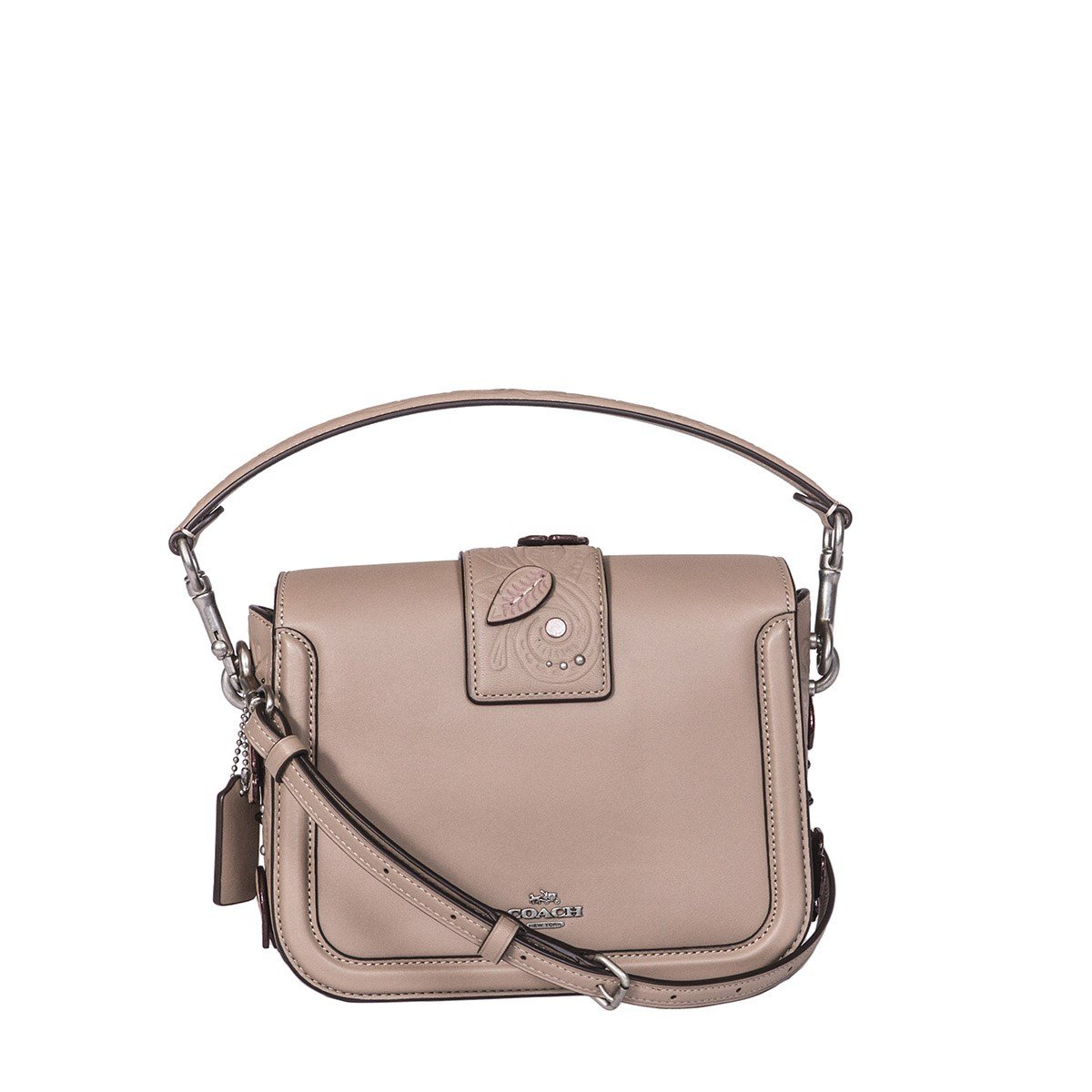 8c9892d0efc0 Coach Women s 12588Lhmmt Grey Suede Shoulder Bag  Amazon.co.uk  Clothing