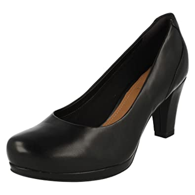 f01f8dae7322 Clarks Chorus Chic Womens Wide Formal Shoes  Amazon.co.uk  Shoes   Bags