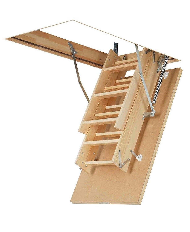 Viele Gr/ö/ßen und Modellen LMK Komfort, 70 x 130 x 305 cm Speichertreppe Ged/ämmte Bodentreppe mit LXL Abdeckleisten und LXK Montagewinkel Dachbodentreppe