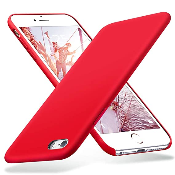 half off 36391 06111 iPhone 6s Plus Case, iPhone 6 Plus Case, Liquid Silicone Rubber with Soft  Microfiber Cloth Cushion Protective Case Thin Slim for iPhone 6s  Plus/iPhone ...