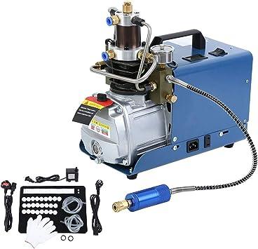 Yonntech Pompe /à air comprim/é /à haute pression 300BAR 30MPA 4500PSI Fusil de syst/ème de haute pression /à contr/ôle automatique Compresseur dair /électrique /à pompe /à air PCP bouteille gonflable