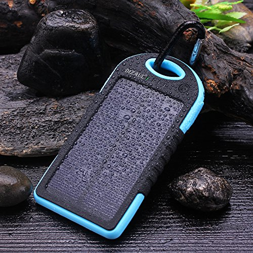 Cell phone solar charger portable waterproof
