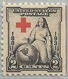 U%2ES%2E Postage Stamps%2C1931 2c Red Cr
