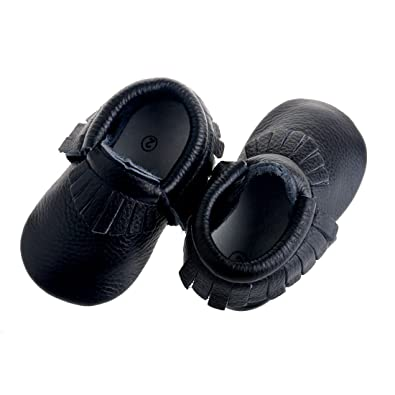 dbd316ec93a Pidoli Baby Moccasins Leather Infant Toddlers for Boys and Girls Shoes (1  11cm 4.33 quot