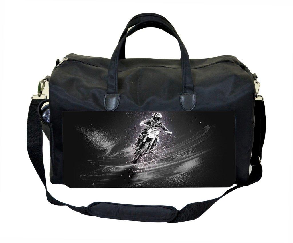 Motorcycle Stunt Weekender//Overnighter Bag