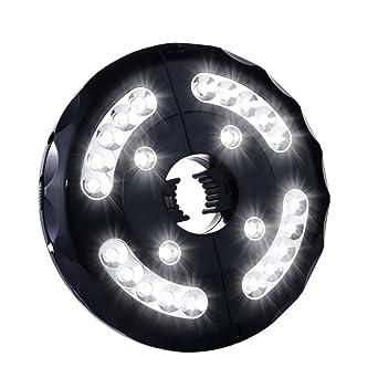 Patio Umbrella Light, Wsiiroon 24 LED Wireless Umbrella Light, Outdoor  Umbrella Pole Light,