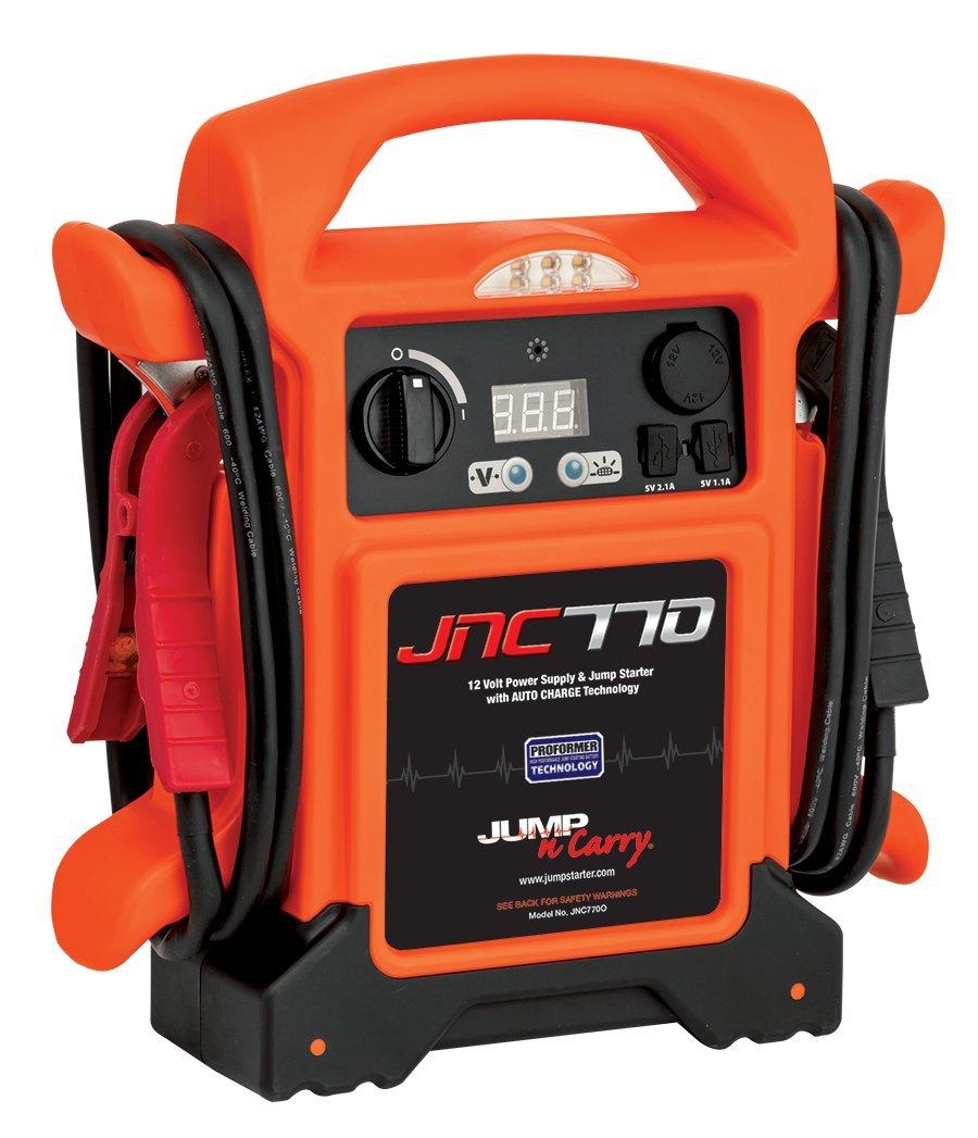 Jump-N-Carry JNC770O 1700 Peak Amp Premium 12-Volt Jump Starter - Orange