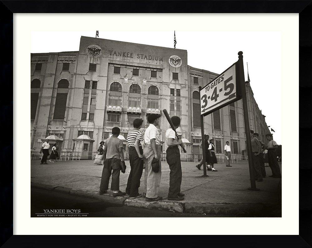 Framed Art Print, 'Yankee Boys': Outer Size 39 x 31''