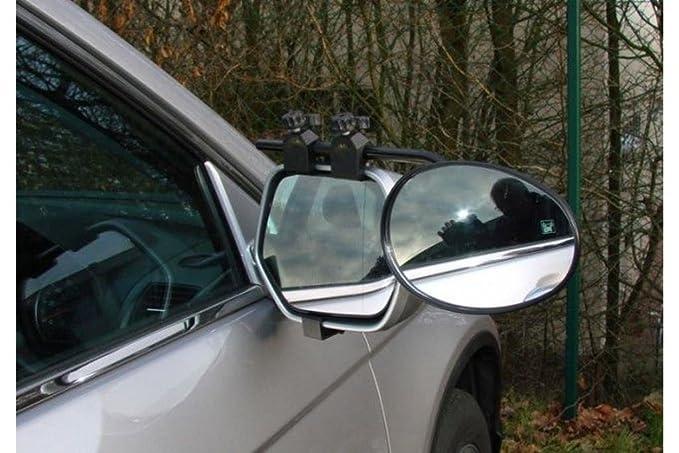 Wing Mirrors World Citroen DS4 Caravana Remolque Remolque de extensión Resistente Cristal de Espejo retrovisor Par: Amazon.es: Coche y moto
