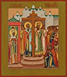 Exaltation of the Holy Cross Traditional Panel Russian Orthodox icon