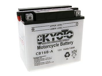 battery Kyoto 12V CB16B-A for Suzuki VS 800 GL Intruder