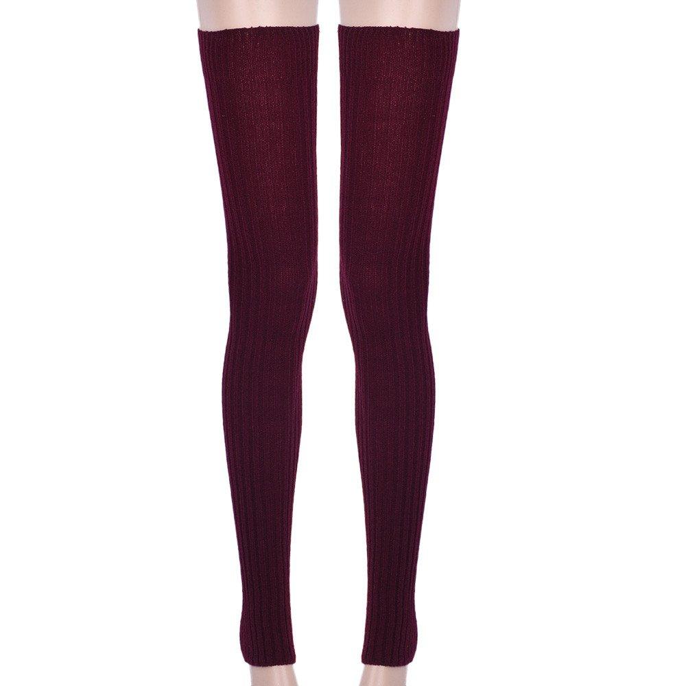 Iuhan® Fashion Women Stockings Over Knee Socks Leg Warmers