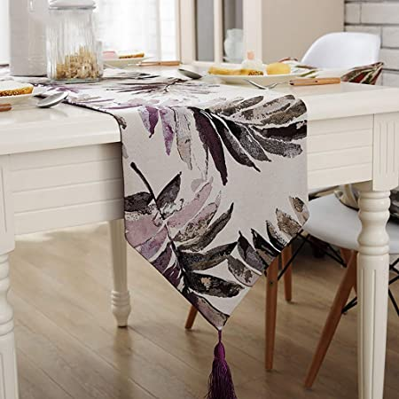 Camino de mesa de Wenjun abstracto hecho a mano con parte superior ...