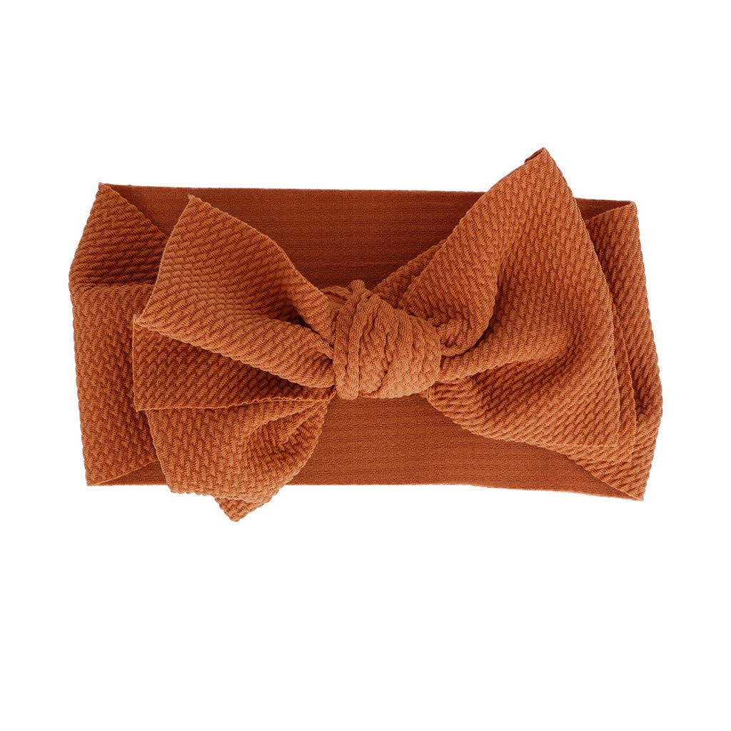 Baby Kids Headwrap Bow Knot...