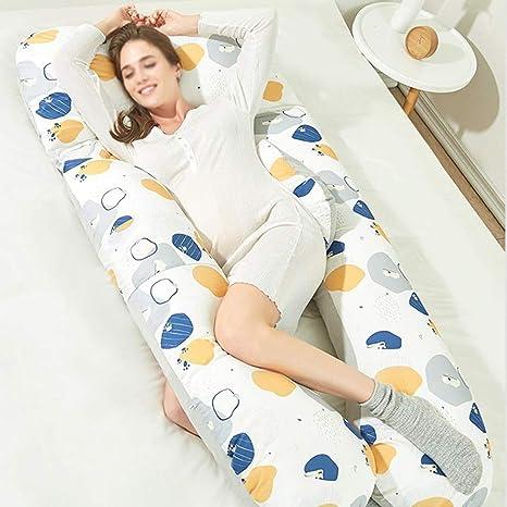 XYYFZ Cómoda Almohada para Mujeres Embarazadas Almohada para ...