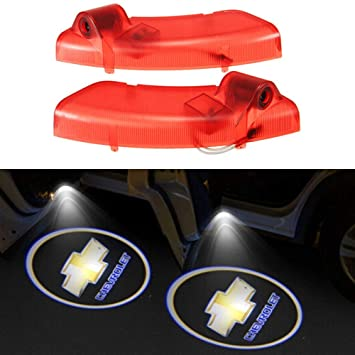 Znystar 2pcs Car Led Logo Ghost Shadow Light Door Welcome Projector