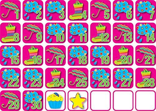 (Creative Teaching Press April - Poppin' Patterns Seasonal Calendar Days (6904) )