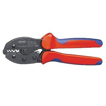 Knipex 97 52 33 alicate - Alicates (Acero, Azul/Rojo, 22 cm, 478 g): Amazon.es: Bricolaje y herramientas