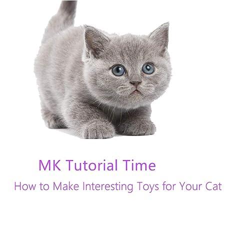 MonsterKill MK Tutorial Hora:Cómo Hacer Juguetes Divertidos para Tu Gato