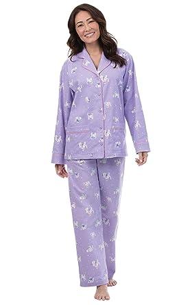 580193bf74 PajamaGram Flannel Pajamas Women Soft - Women s Flannel Pajamas