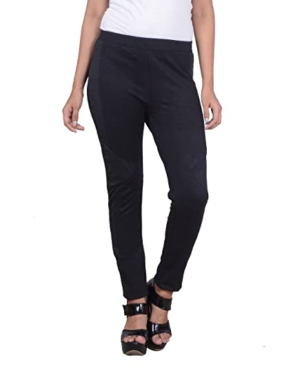 1ace5f244c2ee GDS Black Color Lycra Jegging ( For Womens)  Amazon.in  Clothing    Accessories