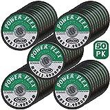 50 Pack - Cut Off Wheels 4 1/2 Inch x 1/16 Inch x