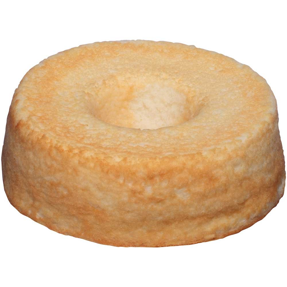 Sara Lee Round Angel Food Bundt Cake, 8 inch - 6 per case.