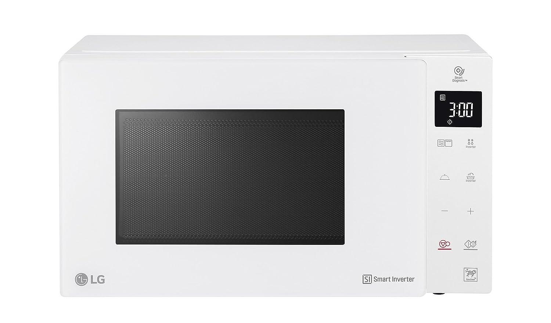 Lg mh6336gih - Forno a microonde con grill capacitá 23 litri, potenza 1150 watt, Bianco