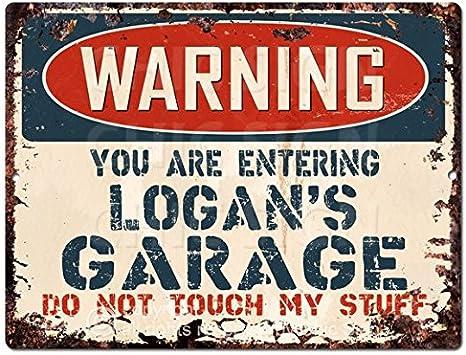 logan sign Metal Plaque vintage retro Pub Bar novelty gift
