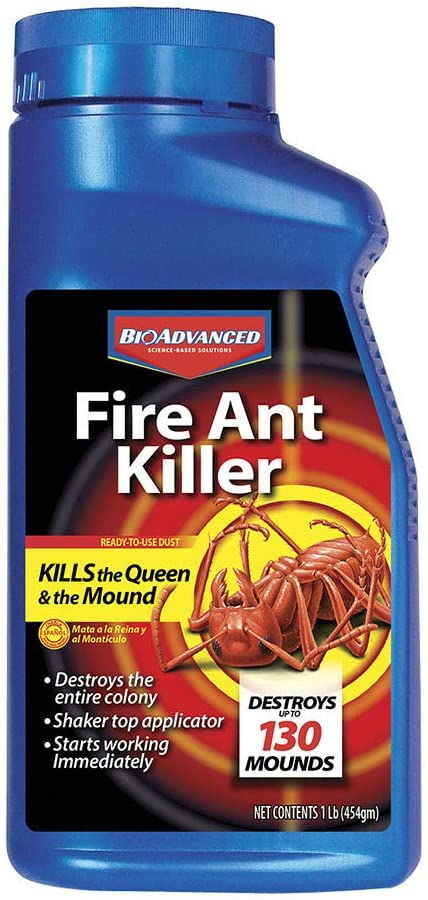 BioAdvanced 502832 Fire Ant Killer Dust, 16-Ounce