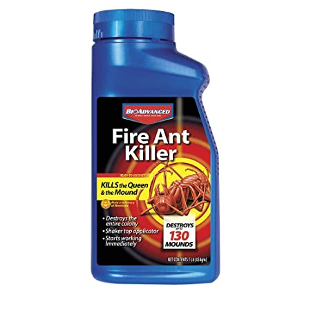 Amazon.com : Bayer Advanced 502832 Fire Ant Killer Dust, 16-Ounce : Garden & Outdoor
