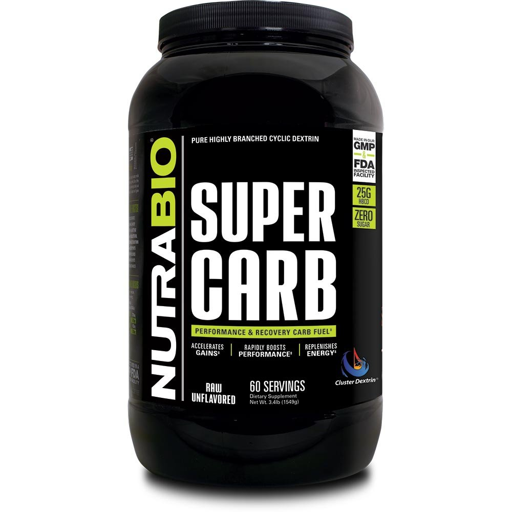 NutraBio Super Carb (Unflavored, 60 Servings)