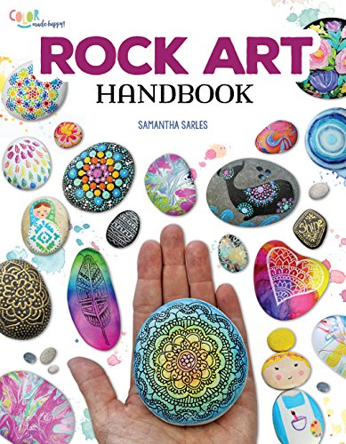Price comparison product image Rock Art Handbook: Techniques and Projects for Painting,  Coloring,  and Transforming Stones (Fox Chapel Publishing) Over 30 Step-by-Step Tutorials using Paints,  Oil Pastels,  Art Pens,  Stamping,  & More