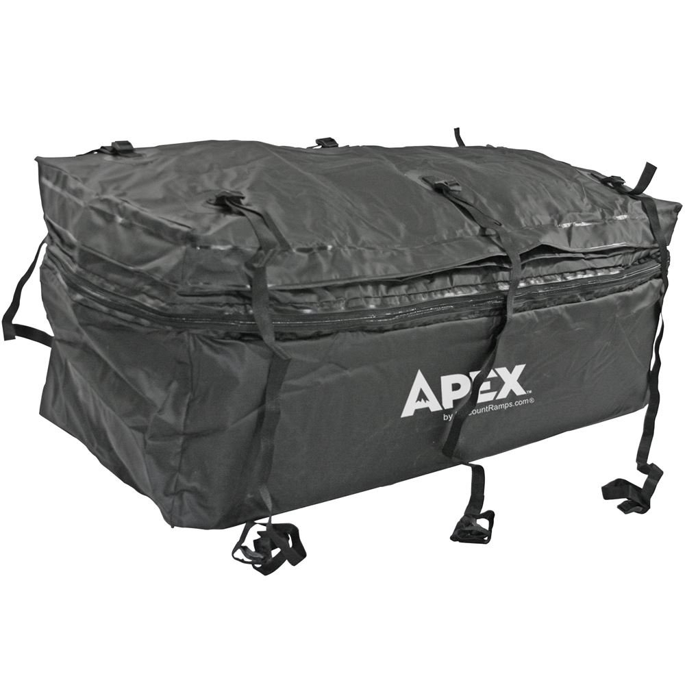 Apex Rage Powersports CSBG-60 Hitch Cargo Carrier Rack Bag (60' Waterproof with Expandable Height),1 Pack by Apex (Image #1)