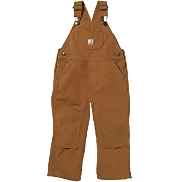 Carhartt Big Boys Washed Duck Bib Overall