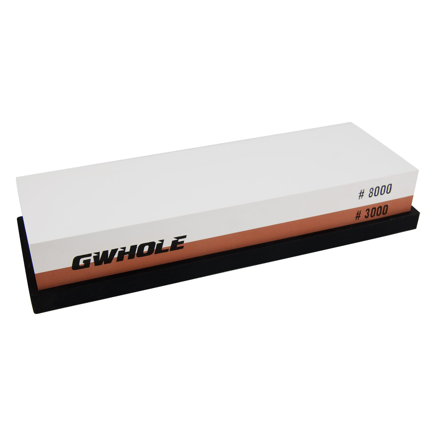 Inside our mobile sharpening shop - Whetstone Gwhole 3000 8000 Grit Knife Sharpening Stone With No Slip Rubber Holder
