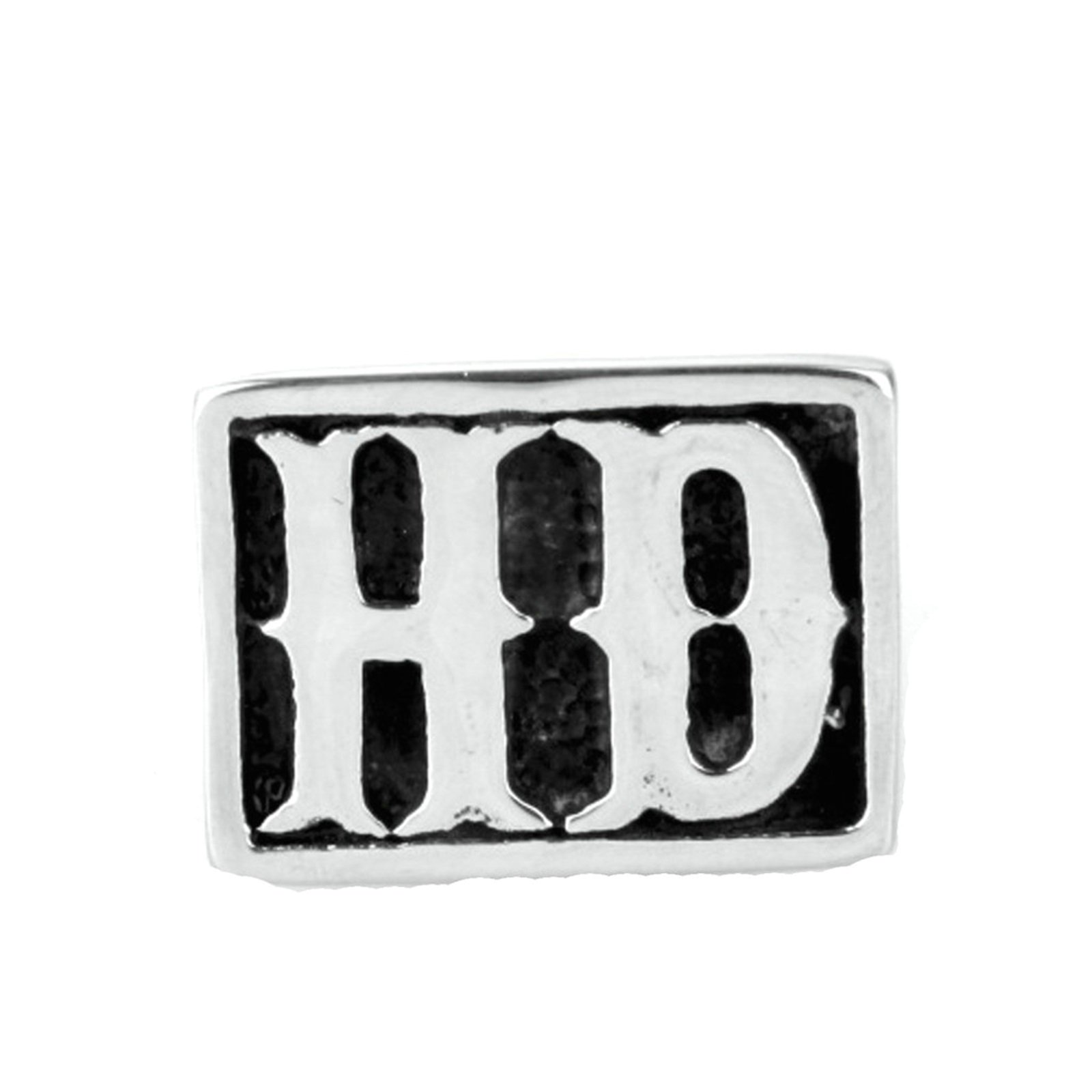 MoAndy Men Stainless Steel Vintage Retro Silver Rock Letters Hd Ring 3CM Size 10