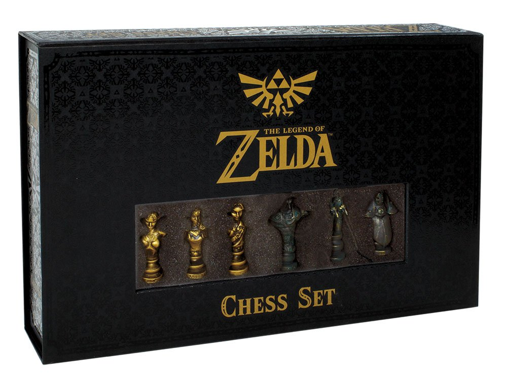 USAopoly-The-Legend-of-Zelda-Chess-Set-32-Custom-Sculpt-Chess-Pieces-Link-vs-Ganon-Themed-Chess-Game-from-The-Nintendo-Zelda-Video-Games