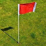 Soccer Corner Flags - Spring Loaded [NET WORLD SPORTS]
