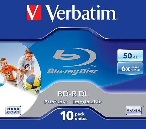 Verbatim Bd R Dual Layer 50 Gb 6 Fache Computer Zubehör