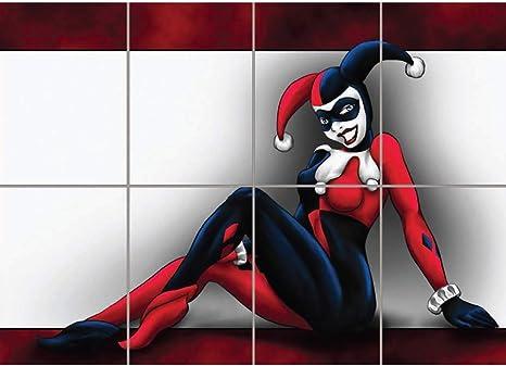 Amazon.com: Harley Quinn Póster De gigante df196: Home & Kitchen