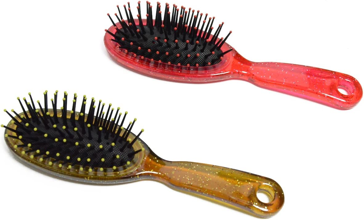 for 18 Inch Dolls Hair Care Doll Accessories Perfect Size Doll Wig Hair Brush Doll Items GBS Doll Hairbrush in Pink with Two Small Combs Compatible with American Girl Dolls /& Bitty Baby