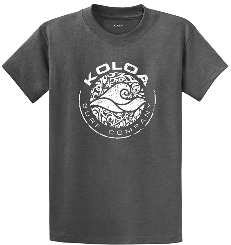 Circle Wave Logo T-Shirts in Regular Big and Tall Sizes Koloa Surf Co
