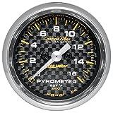 Auto Meter 4744 Carbon Fiber Pyrometer Kit