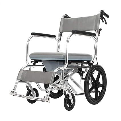 ZCXCC Silla para Silla De Ruedas Inodoro Móvil para Discapacitados Baño para El Hogar Silla De
