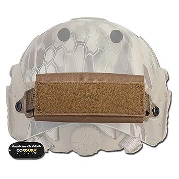 Emerson - bolsillo contrapeso, porta accesorios para casco Fast Softair, Marrón claro