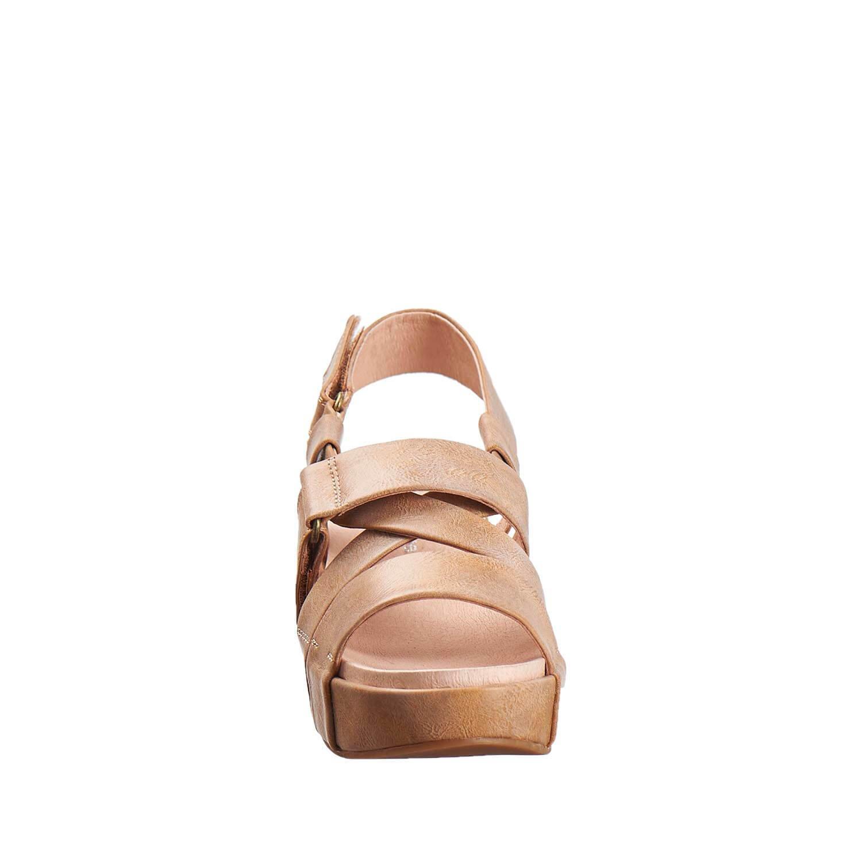 Antelope Women's 405 Metallic Leather Double Vel US|Taupe Sandals B01MV3IZAF 7 B(M) US|Taupe Vel cef3e4