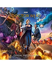 Doctor Who 2020 Calendar - Official Square Wall Format Calendar